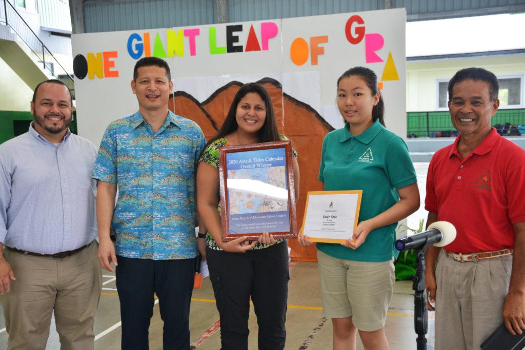 Tide Calendar 2020 2020 Arts and Tides Calendar Awarding | Palau International Coral
